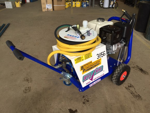 3000psi Petrol Powered Pressure Washer by Brendon Powerwashers at Will Hire Limited
