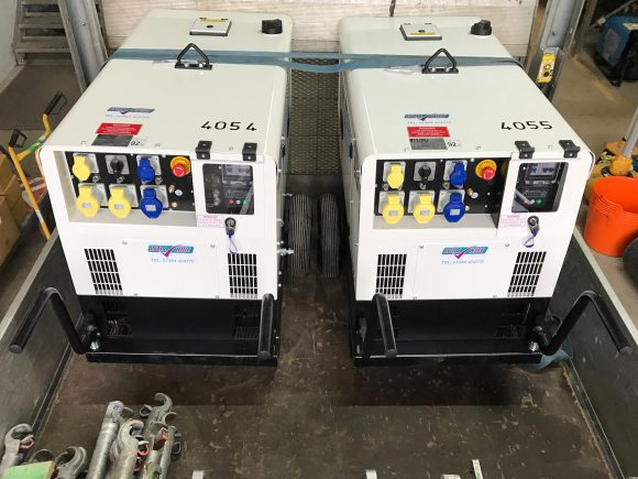 Diesel site generator 10kva stephill Will Hire Limited plant tool access hire Stourbridge Dudley Wolverhampton Birmingham Halesowen West Bromwich Bromsgrove Kiddermnster