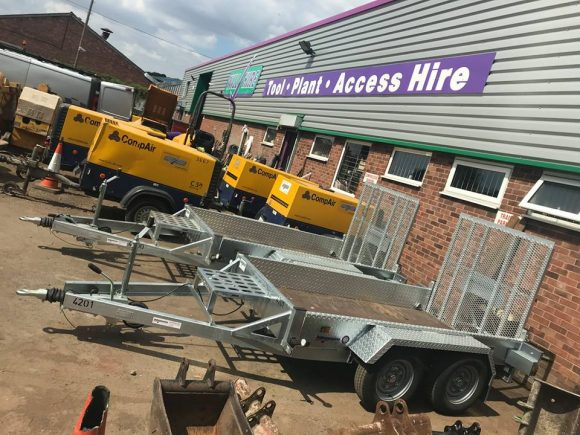 Indespension AD2000 Plant trailer Will Hire Limited plant tool access hire Stourbridge Dudley Wolverhampton Birmingham Halesowen West Bromwich Bromsgrove Kiddermnster